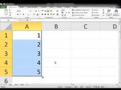 Informática para concursos - Excel - Alça de preenchimento