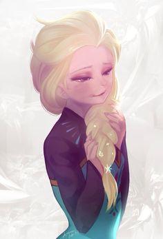 Anna Disney, Disney Frozen Elsa, Disney Fan Art, Disney Love, Disney Magic, Frozen And Tangled, Frozen Movie, Frozen Elsa And Anna, Elsa Anna