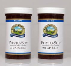 """PHYTO-SOY, Phytonutrient Dietary Supplement, KOSHER (Pack of 2) 90 Capsules each """"FAST SHIPPING"""" Nature's Sunshine,"""