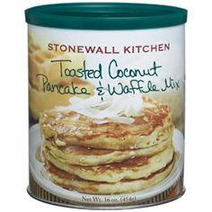 Amazon.com: Stonewall Kitchen Toasted Coconut Pancake & Waffle Mix, 16-Ounce: Everything Else