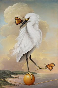 added excitement - Allegorical Paintings by Kevin Sloan  <3 <3