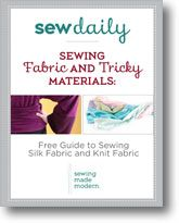 Sewing Fabric and Tricky Materials