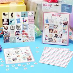 Give each of your baby shower guests a chance to win a prize with these adorable stork-themed scratch cards.