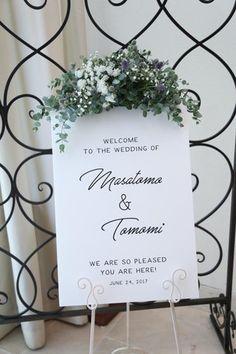 40 Ideas Wedding Ideas Winter Invitations For 2019 Plant Wedding Favors, Blue Wedding Centerpieces, Wedding Decorations, Table Decorations, Wedding Welcome Board, Welcome Boards, Diy Wedding Backdrop, Wedding Entrance, Wedding Set Up