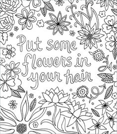 Free Download of 2 Coloring Pages from I Love My Hair