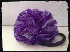 Tape Rose. #Hair #accessory #rose