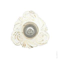 Белый точечный светильник Illumico Dare. IL6143-1YA-61 WT GD http://illumico-shop.ru/spoty/tochechnyy-svetilnik-illumico-dare-1ya-wt-gd/