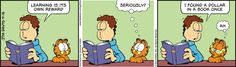 Garfield Cartoon for Apr/16/2013........Jon is being humorous today?!