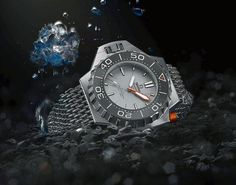 Omega Seamaster Ploprof 1200M is powered by Omega Master Chronometer Caliber 8912, which has been certified by METAS and can cope with magnetic fields up to 15,000 gauss.