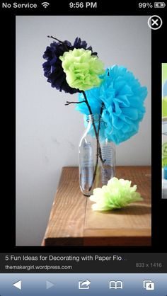 Baby shower centerpieces?