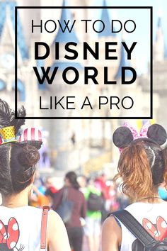 How to Visit Walt Disney World Like a Pro