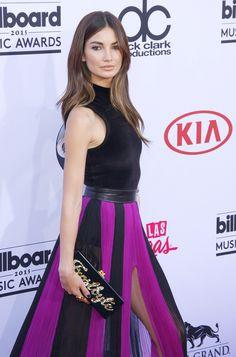 Lily Aldridge - 2015 Billboard Music Awards Best Hair