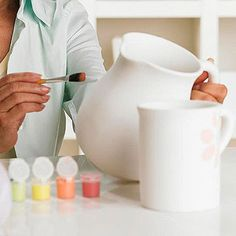 Treat your little artists to a day at a pottery-painting studio when it's too cold to play outside! More fun family activities: http://www.parents.com/fun/activities/unique-family-activities/?socsrc=pmmpin122112wwfPottery#page=7