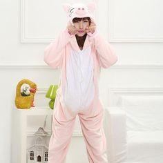 a0f12687d9 Unisex Adult Woman Halloween Pajamas Hoodie Cartoon Animal Cosplay Costume  Unicorn Panda Pikachu Onesie Sleepwear Jumpsuits
