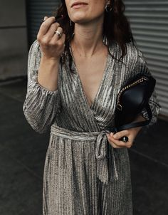 We have a few weddings on the calendar this fall and I am crushing hard on metallic [dresses] for the...