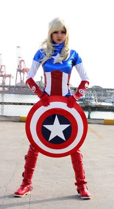 Captain america cosplay | Captain America (Cosplay) II by ~RoCazanova on deviantART