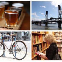 Beer, bike, bridge,