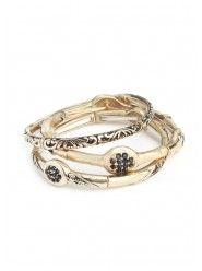 Black and Gold Beauty Bracelet  $25.00