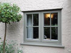 New Double Glazed Wooden Casement Windows - Timber Windows Esher, Surrey Cottage Windows, Cottage Door, Cottage Exterior, House Windows, Cottage Homes, White Cottage, French Cottage, Wooden Casement Windows, Timber Windows