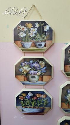 Rölyef grubundaki kursiyerlerin hamur kabartma panoları Crafts To Do, Decor Crafts, Diy Room Decor, Wall Decor, Decoupage Tutorial, Triptych, Vintage Prints, Painting On Wood, Kitchen Decor