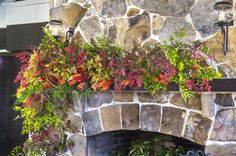 A Fresh (and Simple) Fall Fireplace Garland | Southern Living Plants