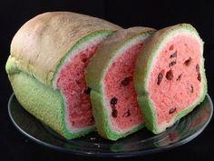 Cómo hacer pan con aspecto de sandía  | Gastronomía & Cía