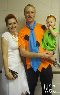 Flintstones Costumes! | Wayward Girls' Crafts