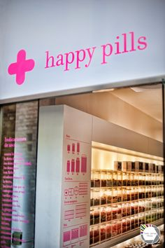 Happy Pills Barcelona, most enticing little candy pharmacies spread all over the city