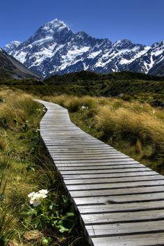 Mount Cook, #NewZealand. #travel.