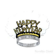 e723f1d8ec7 Happy New Year Gold Bird of Paradise Tiaras (25). Party PacksParty KitNew  Years HatTiarasSanta ...