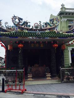CHINESE temple near little India George Town
