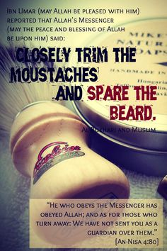 Best Islamic Beard Quotes and Sayings with Images Islam Hadith, Islam Muslim, Alhamdulillah, Jesus Peace, Hadith Quotes, Qoutes, Beard Quotes, Oh Allah, Best Islamic Quotes