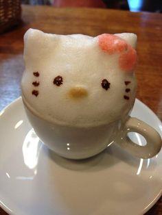 Hello Kitty latte