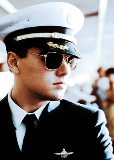 Granted most pilots don't look like Leo, but pilots might be the one instance where I have a thing for men in uniform <3 Catch me if you can!