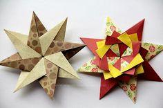 Origami Maniacs: Braided Star by Maria Sinayskaya