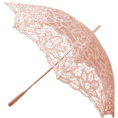 pink lace umbrella Be ready for anything Lace Umbrella, Lace Parasol, Vintage Umbrella, Umbrella Wedding, Under My Umbrella, Kids Umbrellas, Umbrellas Parasols, Pink Love, Pretty In Pink