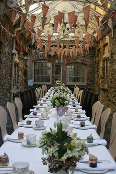 Wedding Settings - Browns Hotel in Tavistock, Devon