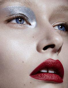 Photographer – Christian Ferretti for Models.com Makeup Artist – Carolina Dali (The Wall Group)
