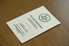 Jonny & Jenny — Wedding Stationery by Scott Wilson, via Behance