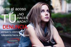 Ante el #acoso ¿no haces nada? Denuncia porque tu silencio es tolerancia hacia el agresor  http://acosoescolar.info/index.htm