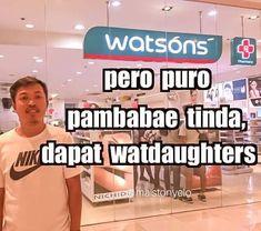 Pinoy Jokes Tagalog, Memes Pinoy, Tagalog Quotes Hugot Funny, Filipino Quotes, Filipino Funny, Haha Funny, Funny Texts, Funny Jokes, Witty Quotes