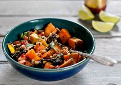 Summer Stir Fry with Sweet Potato and Tempeh  #Recipes #Gluten-Free