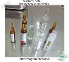Enfermagem atualizada...: FARMACOLOGIA EMERGÊNCIAS/URGÊNCIAS