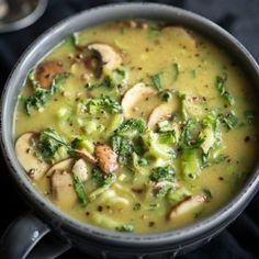 Coconut Soup with Bok Choy | comefeedme