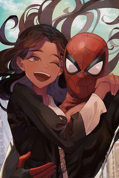 Spiderman Far From Home Marvel Fan, Marvel Dc Comics, Marvel Heroes, Marvel Avengers, Amazing Spiderman, Spiderman Art, Mundo Comic, Fanart, Marvel Wallpaper