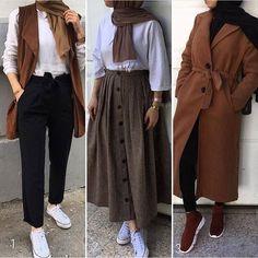 Most Popular Ways to Wear Women's Summer Hijab – Nactumu – Mode Outfits Modern Hijab Fashion, Street Hijab Fashion, Hijab Fashion Inspiration, Muslim Fashion, Hijab Fashion Summer, Fashion Ideas, Modest Fashion, Fashion Tips, Casual Hijab Outfit