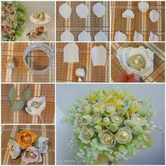 How to Make Crepe Paper Chocolate Jasmine Flowers | iCreativeIdeas.com Like Us on Facebook ==> https://www.facebook.com/icreativeideas