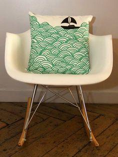 eames rocker plus mengsel cushion. love.