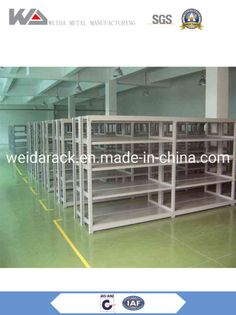 Good Price & Durable Light Duty Storage Shelves for Warehouse Usage : Tool Rack, Beverage, Clothing, Tools, Supermarket, Food, Industrial, Warehouse Rack. Material : Steel. Structure : Rack. Type : Pallet Racking. Mobility : Adjustable. Height : 2-6m. Weight : 150-6000kg. Closed : Open. Development : Conventional. Serviceability : Common Use. Steel Type : Q235(or Ss400),345. Nanjing Weida Logistics Equipment Co., Ltd located in Nanjing is a professional and leading manufacturer of storage… Boltless Shelving, Storage Shelves, Rack Shelf, Steel Cage, Steel Metal, Adjustable Base, Adjustable Shelving, Warehouse Pallet Racking, Decking Panels