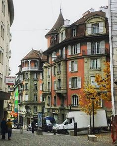 Lausanne, Street View, Switzerland